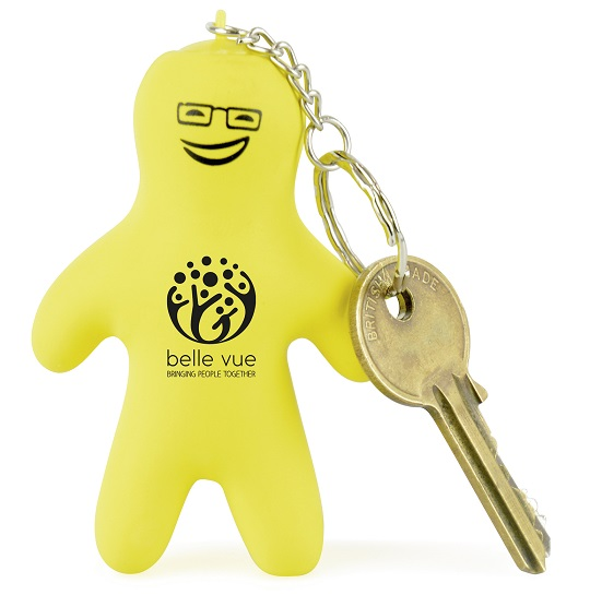 Small Person stress keyring