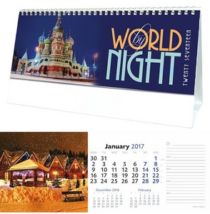 World By Night Desk