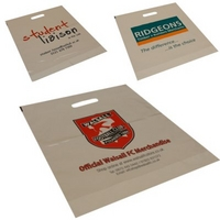 Small Size White or Clear Carrier Bag - 12x16x3 - Price per 1000 bags
